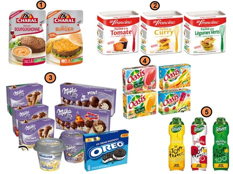Innos alimentaires de Juillet 2013 | Mass marketing innovations | Scoop.it