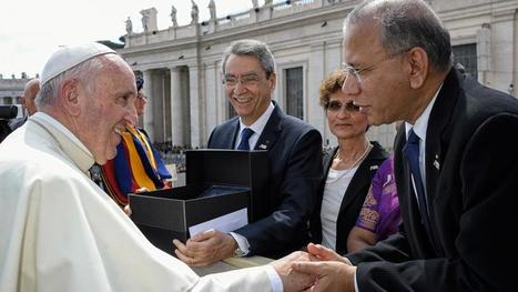 Pope welcomes Rotary to Jubilee audience | My Rotary | Rotary News and Ideas | Scoop.it