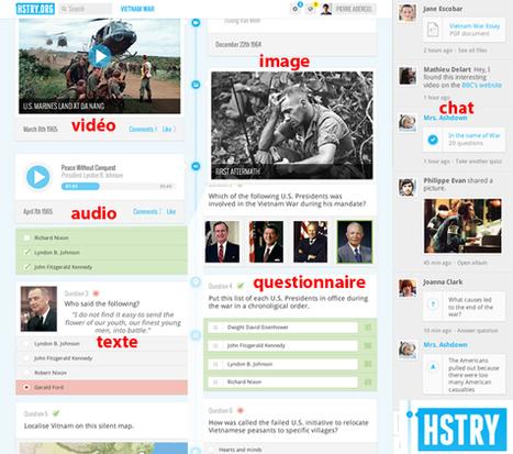 Ligne de temps nouvelle génération avec intégration Quiz et Chat | | TUICE_Université_Secondaire | Scoop.it