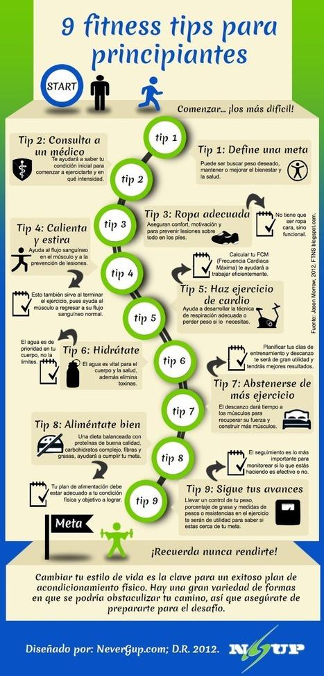 9 Consejos para comenzar tu plan de Fitness (Infografia)   Tecnofits   Médico Geriatra   Scoop.it