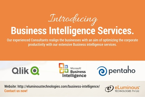 Business Intelligence   eLuminous Technologies   PHP development Company   Scoop.it