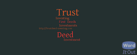 Trust Deed Investing | Finance | Scoop.it