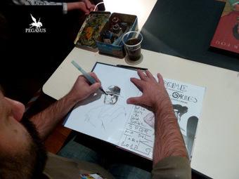 Vincent Pompetti à Creil en 2012 | Bande dessinée et illustrations | Scoop.it