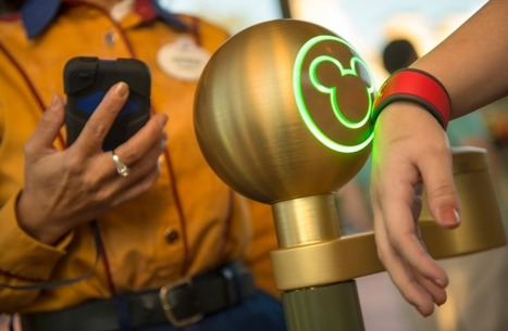 Le bracelet électronique de Disney | NFC wallet | Scoop.it