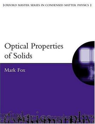 Download Optical Properties of Solids ebook | Ciencia-Física | Scoop.it