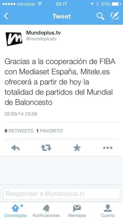 Pau Gasol y Ricky Rubio critican la cobertura del Mundial de Baloncesto en Mediaset | Seo, Social Media Marketing | Scoop.it
