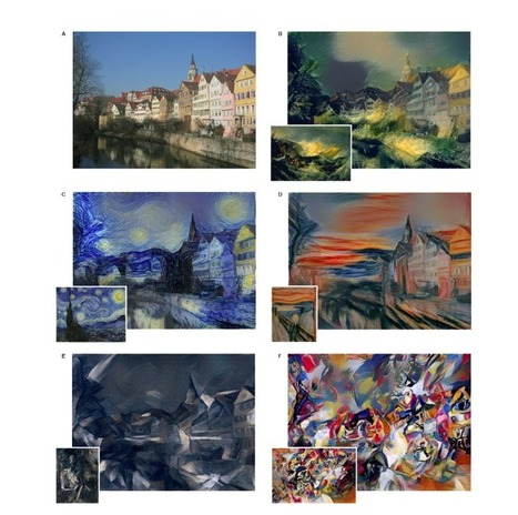 Cet algorithme peut créer un Picasso ou un Van Gogh en une heure à peine | Clic France | Scoop.it