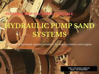 Hydraulic Pump System | Norwinch / Rexroth / Fukushima / Kawasaki / Nikko | Marine Engines Motors and generators | Scoop.it