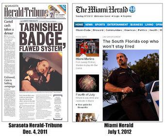 Miami Herald editors use journalistic trickery to steal 7-month-old story from Sarasota Herald-Tribune about corrupt Opa-Locka cop | The Billy Pulpit | Scoop.it
