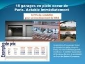 FRANCE 18 garages in the heart of paris for sale with return of 6.75% | L'economie solidaire d'utilite publique | Scoop.it