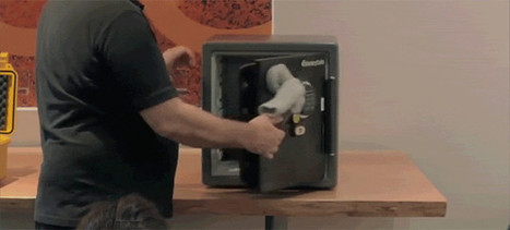 Watch a Magnet Inside a Sock Break Open a Safe in Seconds | News we like | Scoop.it