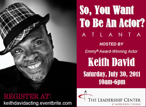 """So, You Want To Be An Actor?"" 