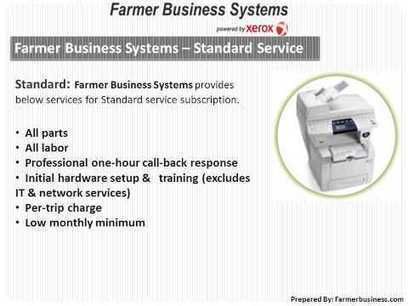 Xerox Printer Parts, Copiers and Services -- Farmer Business Systems | Farmer Business System - Xerox, Samsung, Sharp Printers and Copiers | Scoop.it