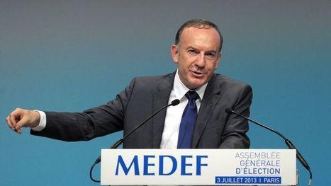 Pierre Gattaz exige 100milliards de baisse des prélèvements | Lyon ma Ville | Scoop.it