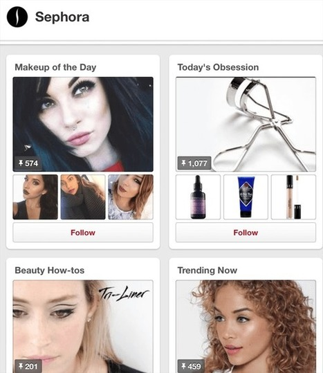 How to Improve Your Pinterest Boards and Gain More Followers   Pinterest for Business   Scoop.it