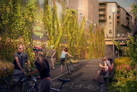Stockholm's Newest Parking Garage Is Only For Bikes | green streets | Scoop.it