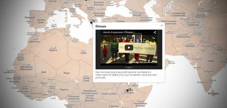 Carte interactive : la liberté d'expression dans le monde | Fil Info - Ressources éducation aux médias | Scoop.it