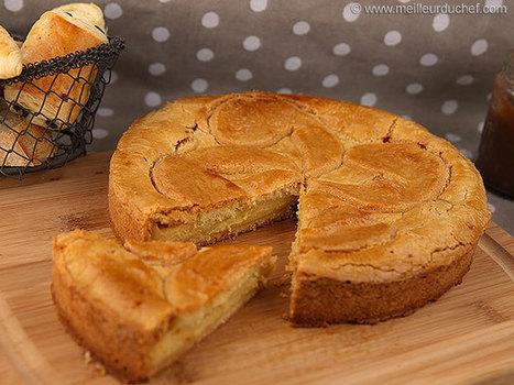 Gâteau basque à la crème   Recettes de cuisine de Meilleur du Chef   Scoop.it