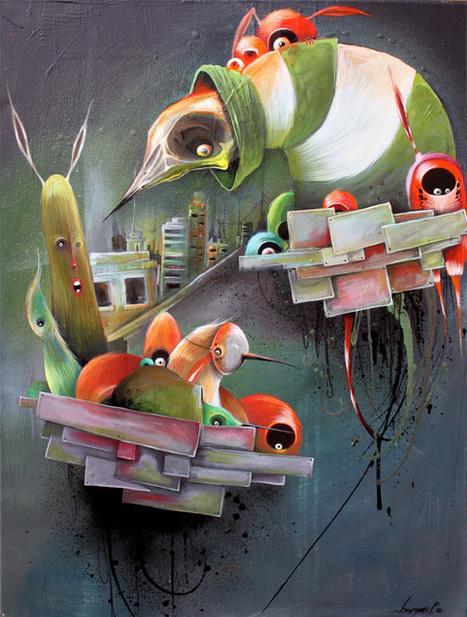 Paintings 2012 by Philip Bosmans | io art | Scoop.it