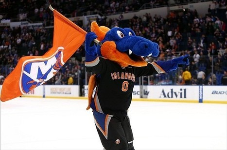 New York Islanders : Oh Mascot, Our Mascot | Mascots | Scoop.it