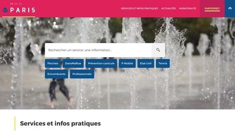 Modèle d'innovation et d'efficacité, Le nouveau site de la mairie de Paris représente l'excellence… | Numérique, communication digitale et engagement | Scoop.it