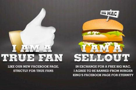 Burger King désabonne les fans qui lui préfèrent McDonald's sur Facebook | CommunityManagementActus | Scoop.it