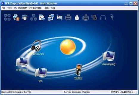 اصدار من برنامج BlueSoleil لتوصيل الهاتف بالكمبيوتر عن طريق البلوتوث | منتديات تعليم وابداع | Scoop.it