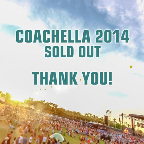 Both Weekends Of Coachella Sell Out In Less Than Three Hours ... | Electronic Dance Music (EDM) News | Scoop.it