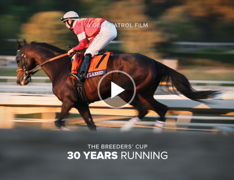 Video: 30th Anniversary Breeders' Cup - Gear Patrol | Horse Racing News | Scoop.it