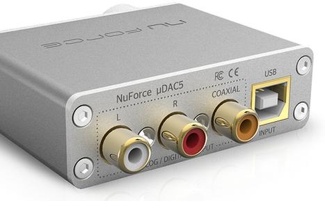 NuForce uDAC5 : version ultra Hi-Res d'un bestseller des amplis casque et DAC USB de poche | ON-TopAudio | Scoop.it