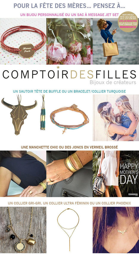 Sélection Fête des Mères - Comptoir des Filles | Comptoir des Filles | Scoop.it
