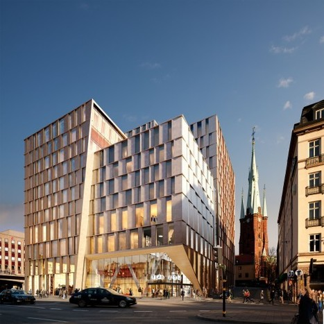 Stockholm City Station / 3XN Architects | Innovative & Sustainable Building | Scoop.it