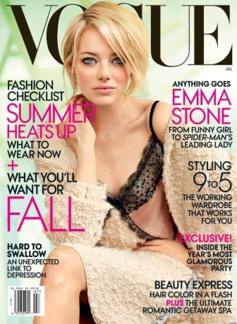 How Putting Celebrities On Magazine Covers Has Affected Body Image | body image | Scoop.it