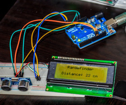 Arduino ultrasonic range finder, with lcd display! | Arduino progz | Scoop.it