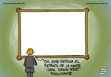 La mente ideal según Wert - Garabatos; humor gráfico, ilustración y cómic por Joseba Morales   Partido Popular, una visión crítica   Scoop.it
