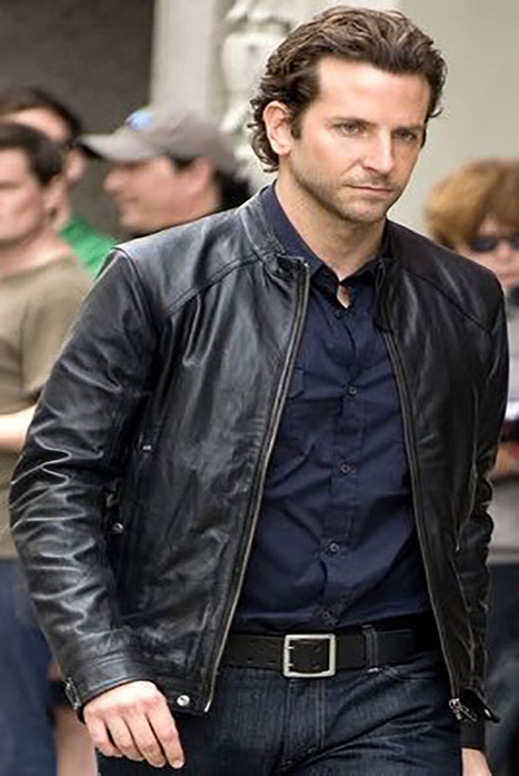 Catch the Neat regal slim-fit punching impression with $312 investment on your wardrobe - Pure silky Leather Bradley Cooper Leather Jacket | Leather Jacket Stylish | Scoop.it
