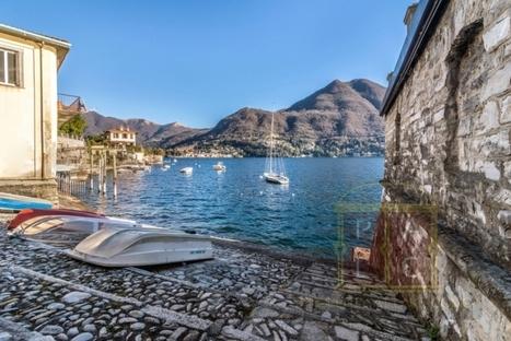 Property of the Week - Lakefront Villa Orlanda for Sale at Moltrasio, Lake Como - Real Estate Services Lake Como | Property at Lake Como | Scoop.it