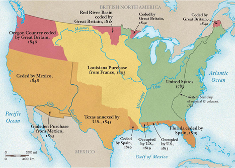 Gadsden Purchase Establishes US-Mexico Border | History and Social Studies Education | Scoop.it