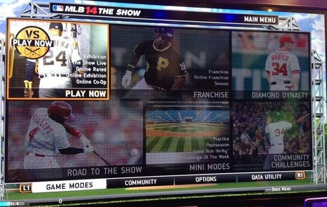 MLB 14: The Show to Include Online Franchise - GameSided | Wlast3r Gamer | Scoop.it