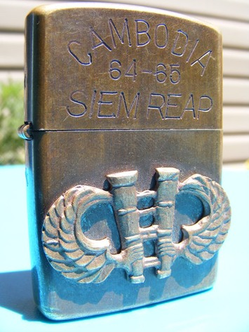 Vietnam War Zippo Lighter | Antiques & Vintage Collectibles | Scoop.it