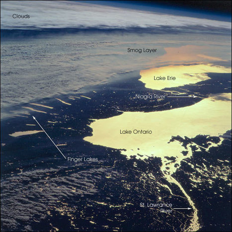 NASA Visible Earth: Smog Layer Over Upstate New York | New York City Environmental Sustainability | Scoop.it