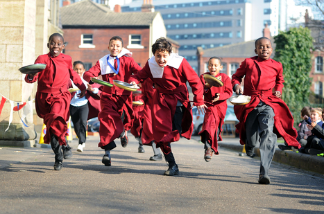 TRADITIONAL PANCAKE RACES Thursday 12 February | Leeds Minster | Scoop.it