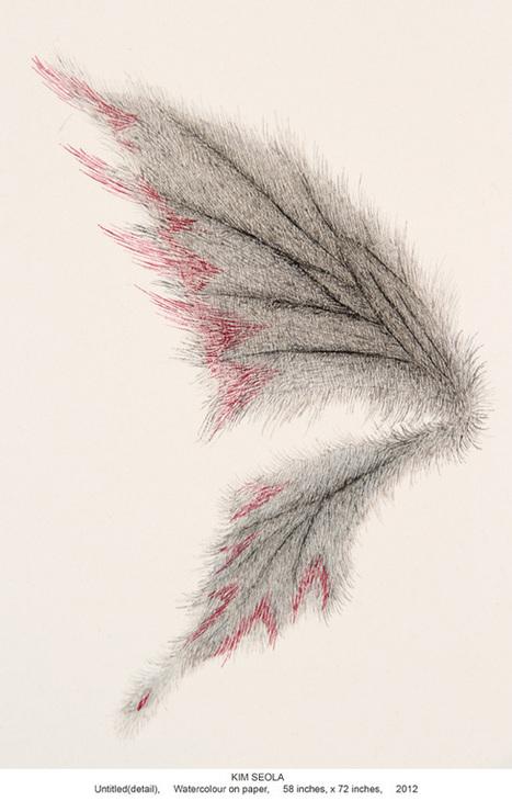 Artiste - Kim Seola (Sud-coréenne) | Découvertes artistiques à Mumbai | Scoop.it