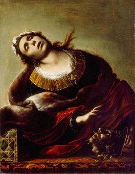 Erodiade necrofila di Francesco Cairo | Strange Art | Capire l'arte | Scoop.it