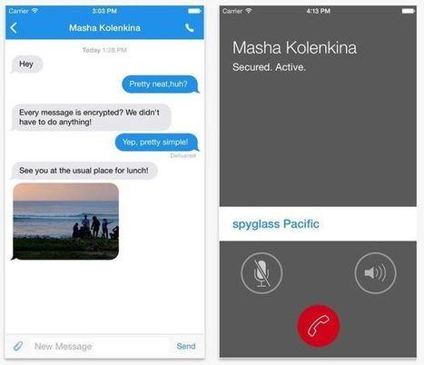 9 apps para cifrar llamadas, SMS y mensajes en el móvil #surveillance #apps | Noticias en español | Scoop.it