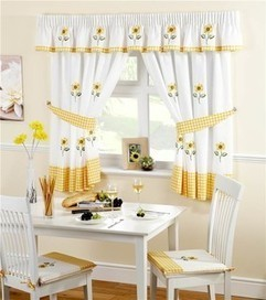 Use Designer Curtains And Swags For Your Kitchen Windows | kitchen Fix it | Scoop.it