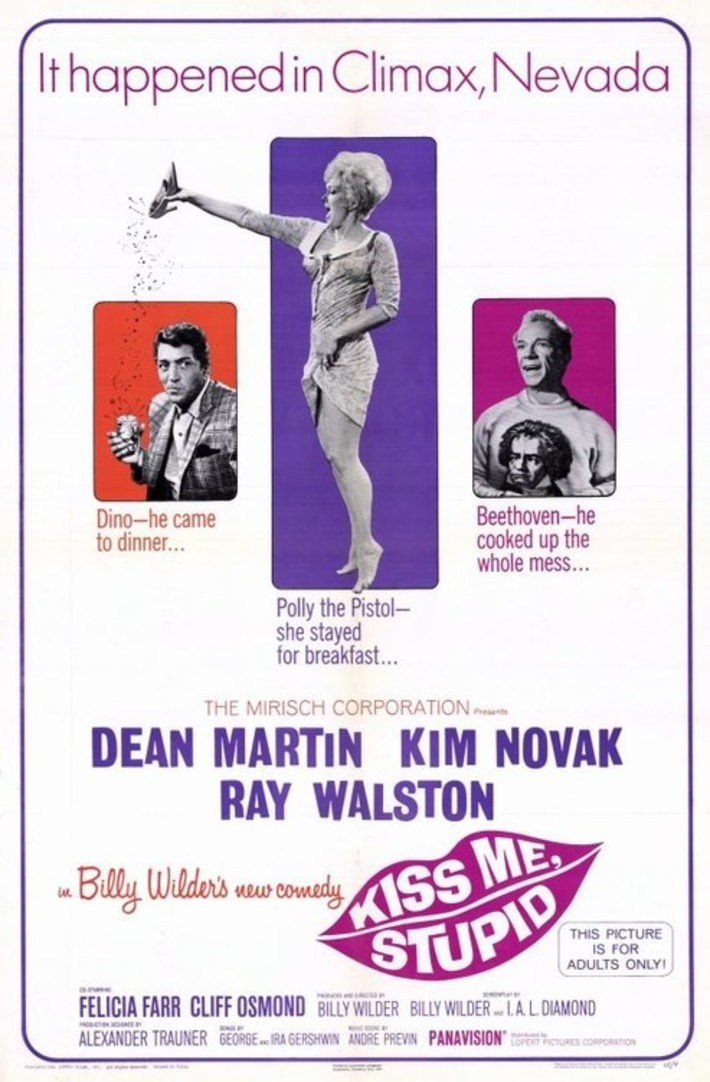 It Happened in Climax, Nevada: Dean Martin's Kiss Me, Stupid | Sex History | Scoop.it