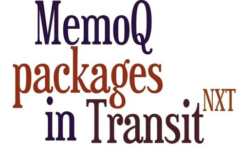 Process project packages from memoQ in Transit NXT   STAR   Translation Tips   Scoop.it