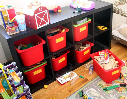 Kids' stuff organized: before and after photos — Simple Mom | Jardim de Infância | Scoop.it