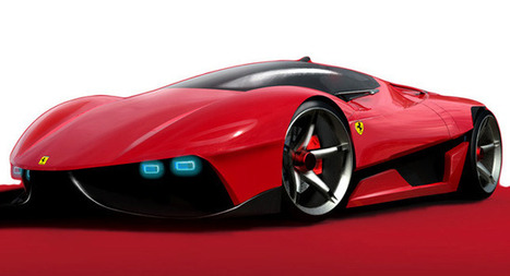 10 eco friendly concept cars designed for Ferrari | What Surrounds You | Scoop.it